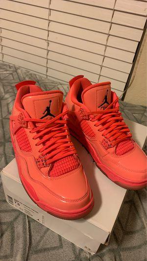 Hot Pink Retro Air Jordan 4s for Sale in Hesperia, CA