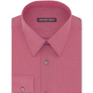 Geoffrey Beene (Brand New) Men's Bedford Cord Dress Shirt 14 1/2 32/33 for Sale in Azusa, CA