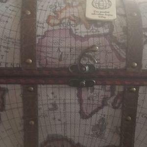 World Map Treasure Chest Box for Sale in Bonsall, CA