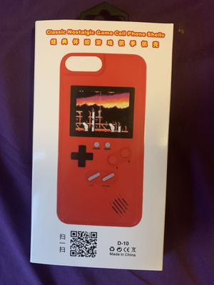 Nostalgic game phone case for iPhone X for Sale in Monroe Township, NJ