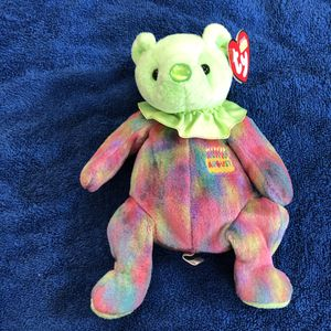 August birthday beanie baby with tag for Sale in St. Helens, OR
