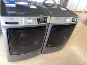 Brand new Maytag front load washer and dryer set for Sale in Houston, TX