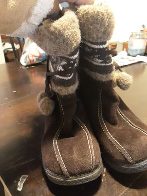 Women brown boots for Sale in Lakeland, FL