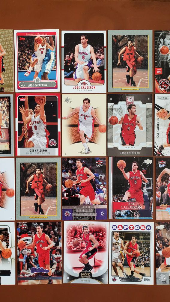 Basketball Cards - Jose Calderon