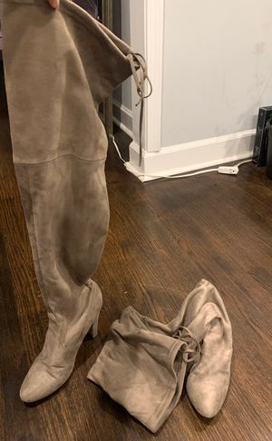 Nude Thigh High Boots for Sale in Atlanta, GA