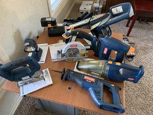 Ryobi 18V Tool Set. 7 tools for Sale in Malvern, PA