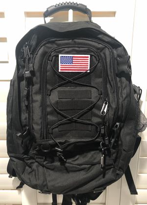WolfWarriorX Large Capacity Military Tactical Hiking Expandable 39L-60L Backpack - $25 for Sale in Pomona, CA