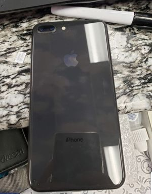 Unlock apple iphone 8+ gray 64gb good condition come with charger $549.99 price is firm pick up only no trade for Sale in Glendale, AZ