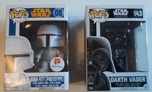 2 Star Wars Funko Pops! for Sale in Pekin, IL