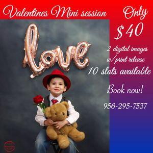 Valentines mini session for Sale in Harlingen, TX