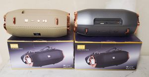 New portable wireless speaker rechargeable, Bluetooth, usb, sd, tf, fm for Sale in Riverside, CA