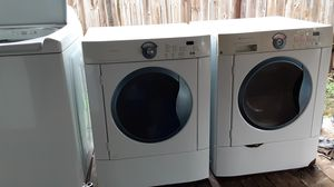Frigidaire washer &Dryer stackable for Sale in Dallas, TX