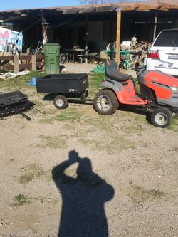 Tractor and Small Trailer for Sale in Norco,  CA