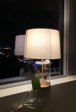 Kate spade lamp for Sale in Seattle, WA