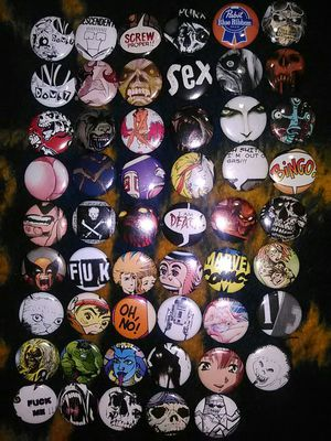 DIY buttons/pins for Sale in Riverside, CA