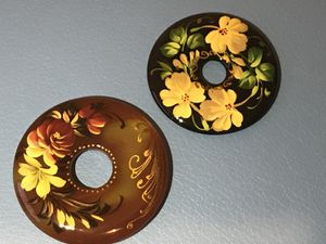 Hand painted Russian stone donuts for Sale in New York, NY