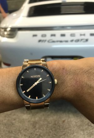 Nixon Rose Gold watch Free Local Delivery for Sale in Miami, FL
