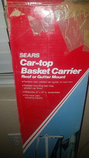 Car top basket carrier for Sale in Gilbert, AZ