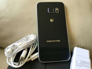 Samsung Galaxy S6 edge - excellent condition, factory unlocked, clean IMEI for Sale in West Springfield, VA