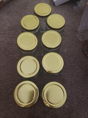 9 pack jars storage containers for Sale in Bakersfield, CA