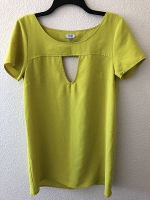Neon Yellow Shift Dress for Sale in Tempe, AZ