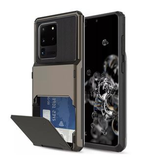 Samsung Galaxy Phone Case S20 Ultra 5G/Note 10+/S10 Plus Case With Card Wallet Holder Please Note for Sale in Los Angeles, CA