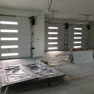 New Garage Door / Spring /cables/secciones / Tracks /keypad /rolers/ Sensor /Opener for Sale in Paramount, CA