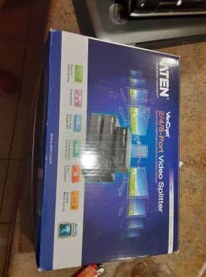 8 port video splitter for Sale in Olathe, KS