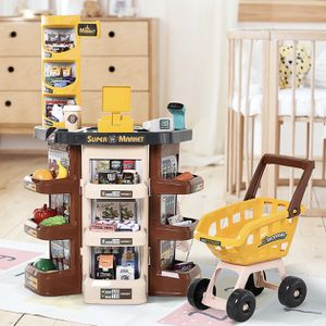 Free Shipping Kids Supermarket Playset with Shopping Cart and Scanner for 3 to 6 Years for Sale in San Diego, CA