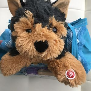Play Right Pet In Carrier Puppy Dog Plush Animal for Sale in Las Vegas, NV