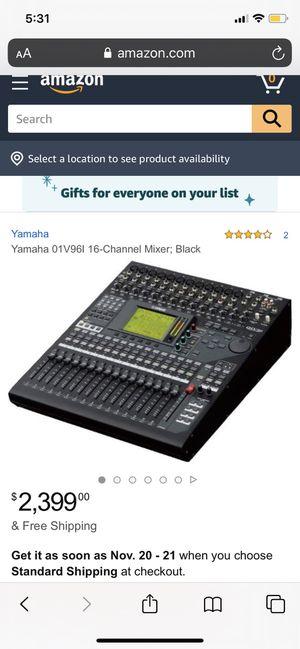 Yamaha 01V96 Digital Mixer for Sale in Dearborn, MI