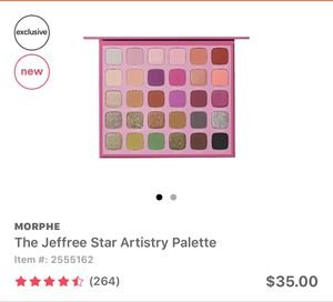 Jeffree star palette and brushes for Sale in Murrieta, CA