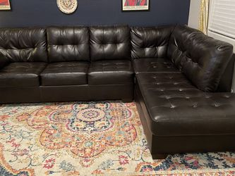 Large Pleather Sectional for Sale in Litchfield Park, AZ