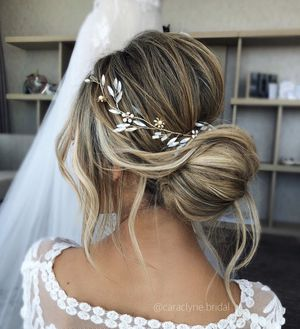 Opal hair vine moonstone hair vine bride hairpiece bridal accessories wedding for Sale in San Francisco, CA