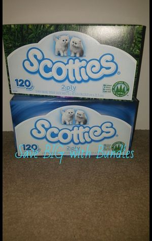 Scotties tissue 2 for $1.50 for Sale in High Point, NC