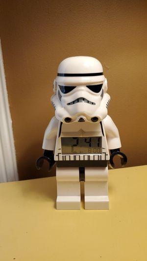 Star Wars Lego Storm Trooper Clock / Alarm Clock / Night Light for Sale in Los Nietos, CA