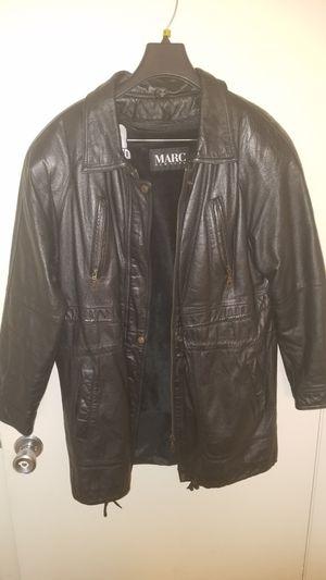 Leather winter jacket for Sale in Alexandria, VA