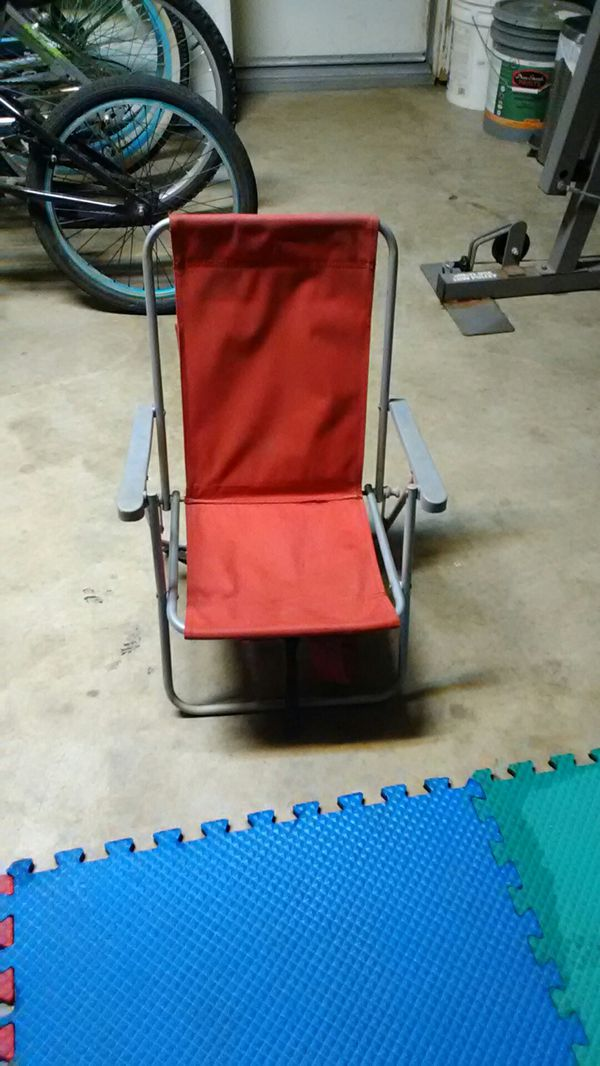 Backpack chair for little kids