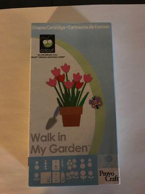 Cricut Cartridge - Walk in My Garden for Sale in Wallingford, CT