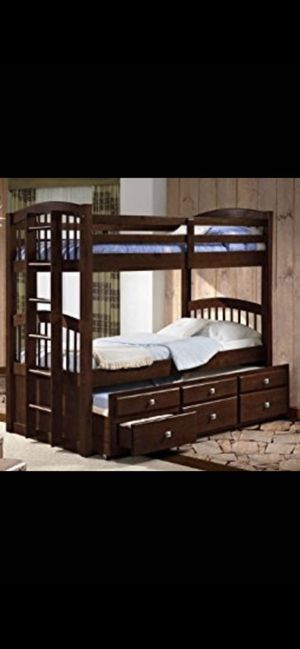 Brand new Triple Bunk Bed (3kids -3Beds) for Sale in Milwaukee, WI