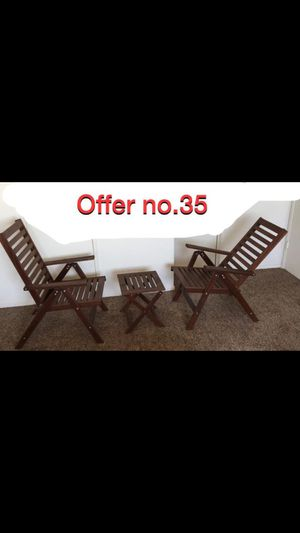 Outdoor Dining set for two people for Sale in Long Beach, CA