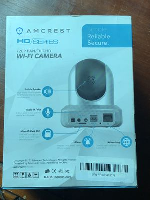 720p Pan/Tilt Camera for Sale in Canton, MI
