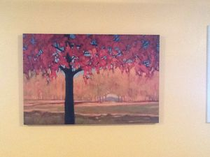 """Picture of fall trees 24""""X 36"""" for Sale in Colorado Springs, CO"""