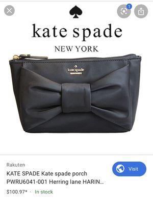 Large Kate Spade ♠️Cosmetics Bag for Sale in Burbank, CA