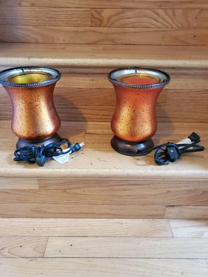 2 BURNT ORANGE SCENTSY WARMERS for Sale in Saint Charles, MD