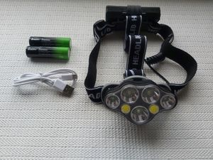 Hunting 7X XM-L T6 White Red LED USB Headlamp Headlight Flashlight Torch for Sale in San Diego, CA