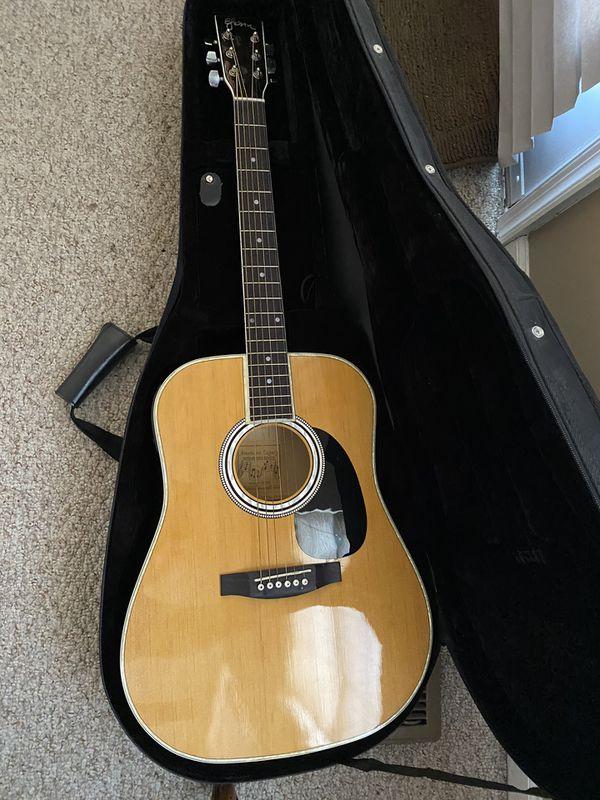 American Legacy Acoustic/Electric Guitar