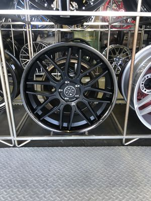 Blaque Diamond wheels and tires for Sale in Kent, WA