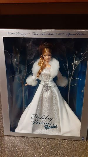 Barbie Winter Fantasy, First in the Series, 2003 Special Edition, new in box for Sale in OH, US