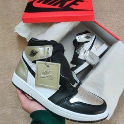 Jordan 1 Silver Toe Size 8w, 6.5 Mens for Sale in Temecula,  CA